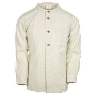 Bomullsskjorta, cream - 80