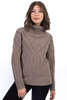 Noomi sweater caffe latte - S