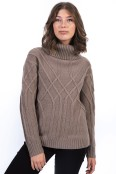 Noomi sweater caffe latte