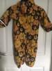 Fleecefodrad regnoverall, stl 92, Lionflower, Jny