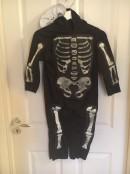 Skelettdräkt, stl 116
