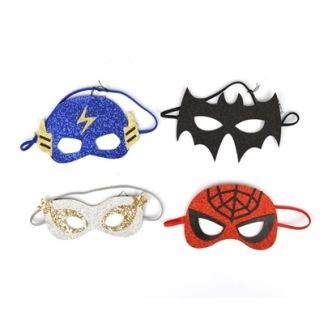 Maskeradmask glitter - Spindelmannen