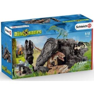 Dino set med grotta, Schleich -