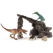Dino set med grotta, Schleich