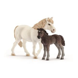 Ponny sto och föl Dartmoor , Schleich -