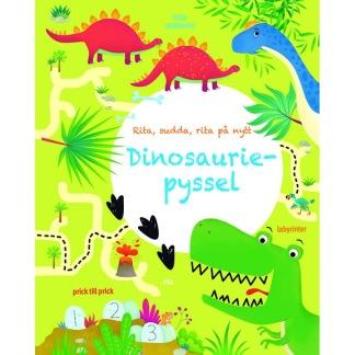Pysselbok dinosaurier -