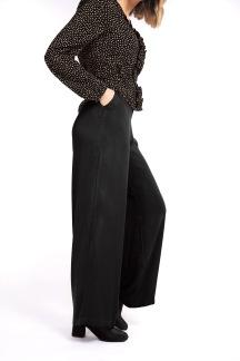 Regina pants, svarta - S