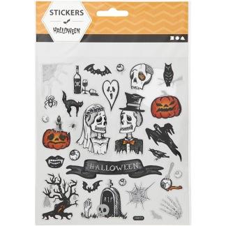 Klistermärken Halloween -