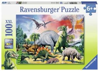 Dinosaurier 100 bitar XXL -