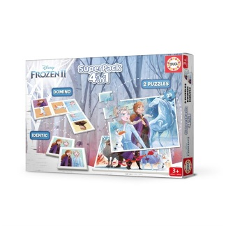 Disney Frozen Superpack 4 i 1 -