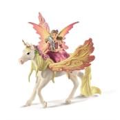 Fairy Feya with Pegasus unicorn