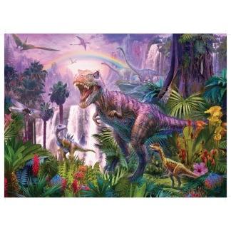 Pussel Dinosaurie land XXL 200-bitar -