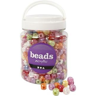 Fyrkantiga pärlor, 700 ml -