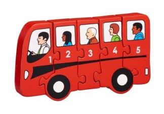 Pussel Buss 1-5 -