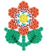 Hama Midi Pärlset - Liten Blomma - Flerfärgad