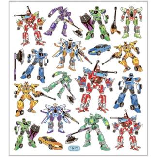 Klistermärken, Transformers -