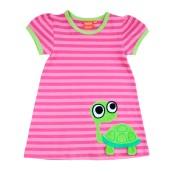 Klänning med sköldpadda