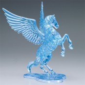 3d chrystal puzzle horse