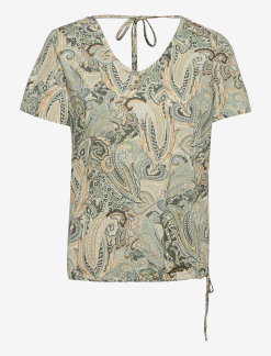 CRLulla T-shirt, Desert Sage Paisley - S