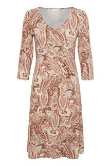 CRventa top klänning, Rose Brown Paisley - S