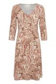 CRventa top klänning, Rose Brown Paisley