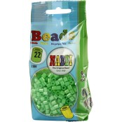 Nabbipärlor, grön pärlemor, 1100 st