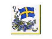 Servett Blomflagga