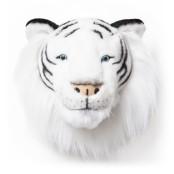 Vit tigerhuvud