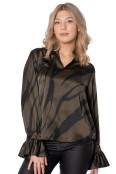Chamber blouse olive/black