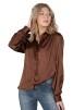 Eternity blouse, cinnamon - XL