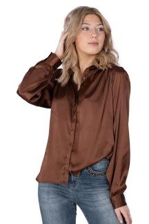 Eternity blouse, cinnamon - S