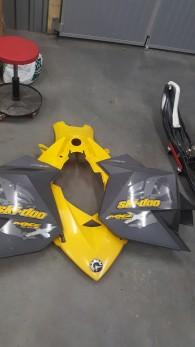 tankplast gul