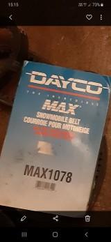 Dayco max 1078