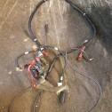 reglage och kablar till startmotorn
