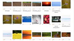 Bilder som beskriver olika årstider och känslor ..