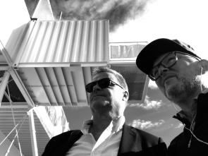 Anders Nilsson och Harrie Rademaekers på plats i Oslo.