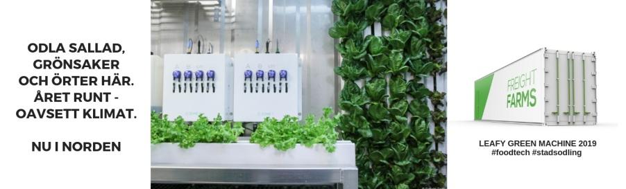 Foodtech Futufarm Stadsodling Agfo
