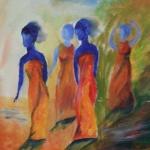 Sång o dans - olja, 40 x 39,5 cm SEK 1,800