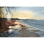 Stranden, 40x50 cm, SEK 400