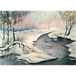 Vinter, 40x50 cm, SEK  800