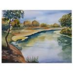 Floden, 40x50 cm, SEK 1800