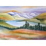Skotskt landskap, 40x50 cm, SEK 1500