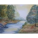 Hösten på väg, 40x50 cm, SEK 1500