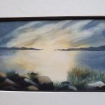 Morgonsol I, 30x40 cm, SEK 300