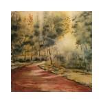 Landsvägen, 40x40 cm, SEK 1800