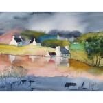 Skotsk landsbygd, 40x50 cm, SEK 1500