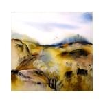 Landskap, 50x50 cm, SEK 1200
