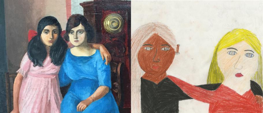 Titel och upphovsrätt: Alla barn har lika värde, av Jennifer Alderhorn, åk 5 Tullinge 2003 och Italienska flickor,  av Arvid Fougstedt.