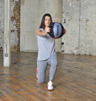 Studio Double Grip Medicine Ball