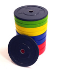 STI Fitness bumper plates